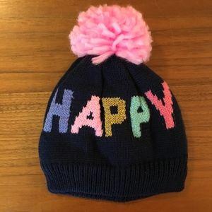 Carter's Baby Girl Winter Hat w/ Pom Pom